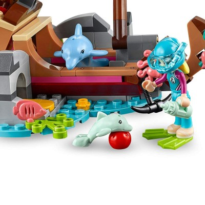 LEGO PIEZA COMIDA - HELADO NARANJA
