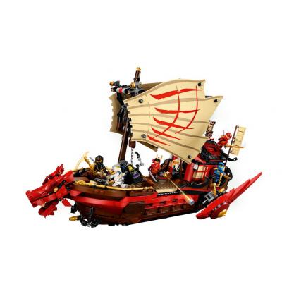 LEGO PIEZA PLANTA - FLOR 4 PETALOS GREEN