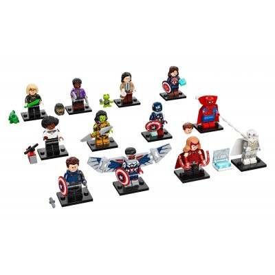 LEGO HEROES MINIFIGURA - LEX LUTHOR