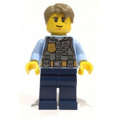 LEGO PIEZA ARMA - ESPADA FLAT GOLD (18031)