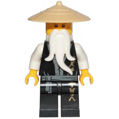 ALFRED PENNYWORTH - MINIFIGURA LEGO SUPER HEROES