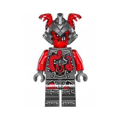 LEGO HEROES MINIFIGURA - AARON CASH